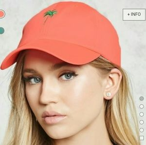 NWT Palm Tree Baseball Cap
